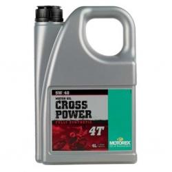 Motorex Cross power 4T 5W/40 4L JASO MA 2