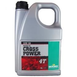 Motorex Cross power 4T 10W/50 4L JASO MA 2
