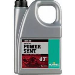 Motorex Power synt 4T 10W60 4L JASO MA 2