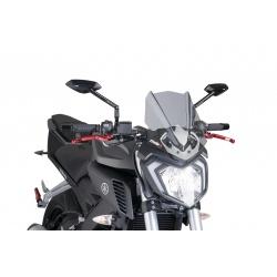 Owiewka PUIG do Yamaha MT-125 lekko przyciemniana
