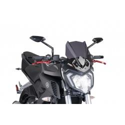 Owiewka PUIG do Yamaha MT-125  mocno przyciemniana