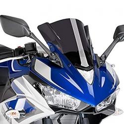 Szyba sportowa PUIG do Yamaha YZF R3  mocno przyciemniana