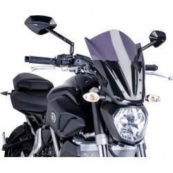 Owiewka PUIG Touring do Yamaha MT-07  mocno przyciemniana