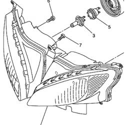 Yamaha FZ6S Fazer  licznik