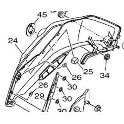 Yamaha MT 07 owiewka prawa