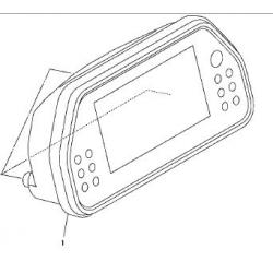 Yamaha YZF-R1 licznik