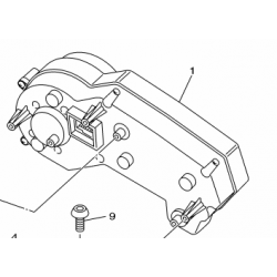 Yamaha XJ6N licznik
