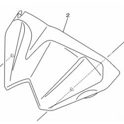 Yamaha XJ6N owiewka licznika