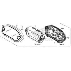 Honda CB500F licznik