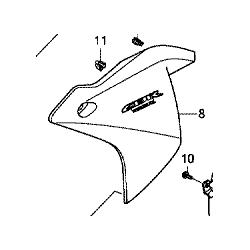 Honda CBR 125R owiewka lewa