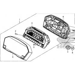Honda NC750X licznik