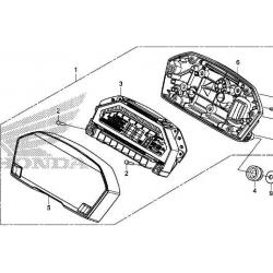 Honda NC750  licznik