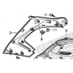 Honda NC750X  wypełnienie owiewka prawa