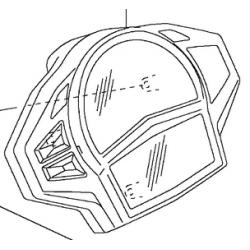 Kawasaki ER6-F licznik