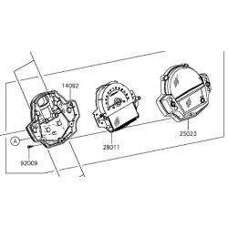 Kawasaki Versys 650 licznik