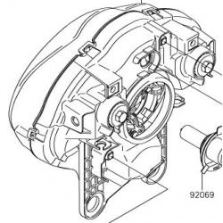 Kawasaki Versys 650 lampa