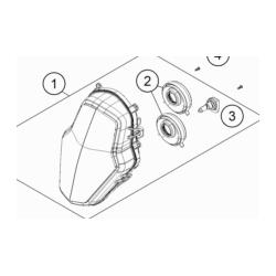 KTM 1290 SUPER ADVENTURE lampa
