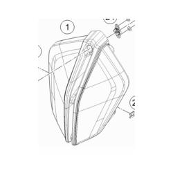 KTM 1290 SUPER DUKE lampa