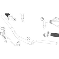 KTM DUKE 125 Kierownica