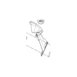 KTM RC 125  lusterko Prawe