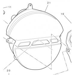 Ducati Monster 696 lampa