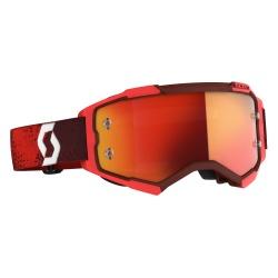 SCOTT Fury Goggle  red/orange