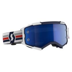 SCOTT Fury Goggle blue/white