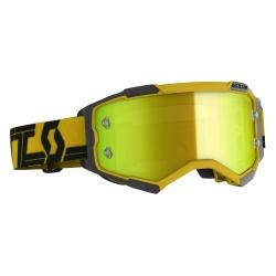 SCOTT Fury Goggle yellow/black