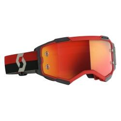 SCOTT Fury Goggle red/black