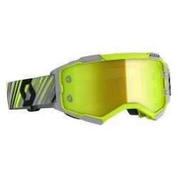 SCOTT Fury Goggle yellow/grey