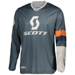 SCOTT 350 Track Jersey  blue/orange