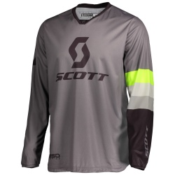 SCOTT 350 Track Jersey grey/yellow