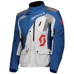 SCOTT Jacket W's Dualraid Dryo SAPPHIRE BLUE/LUNAR GREY