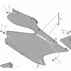 Ducati Panigale 1299 owiewka prawa