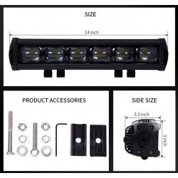 Listwa panel LED 60W cree 6x10W 8D