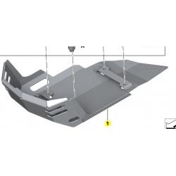 osłona aluminiowa silnika
