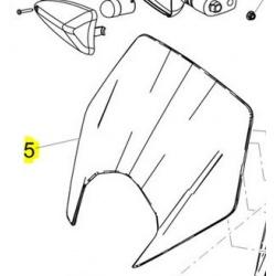 szyba derbi SX 125