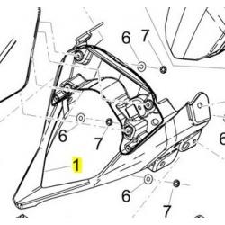 stelaż lampy derbi SX 125