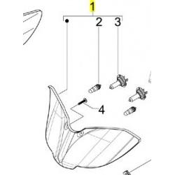 lampa przód gilera Runner 125 ST 4T