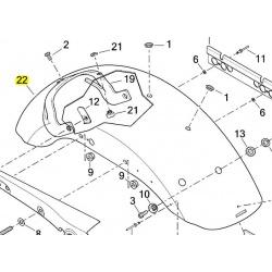 błotnik tył harley davidson XL1200C