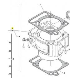 cylinder husqvarna te 250 4t