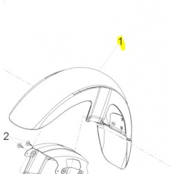 błotnik przedni moto guzzi California 1400 Touring