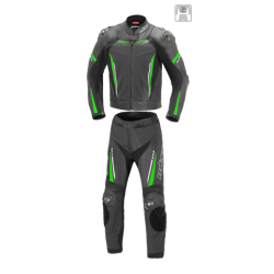 Kombinezon motocyklowy BUSE Imola czarno-zielony