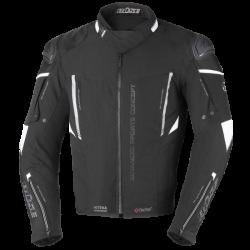 Kurtka motocyklowa BUSE Rocca czarna/biała