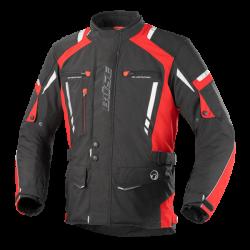 Kurtka motocyklowa BUSE Torino Pro czarno-czerwona