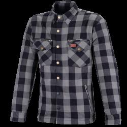 Koszula bawełniana M11 Karo szara