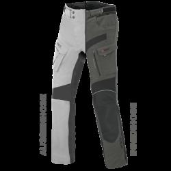 Spodnie motocyklowe ZESTAW EXRC Porto jasno szary/szary łupek