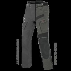 Spodnie motocyklowe ZESTAW EXRC Porto czarny/szary łupek