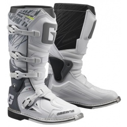 Buty motocyklowe GAERNE FASTBACK Endurance białe