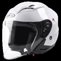 Kask motocyklowy ROCC 210 biały połysk